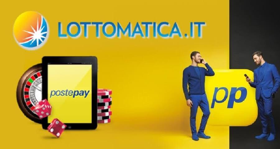 Lottomatica postepay