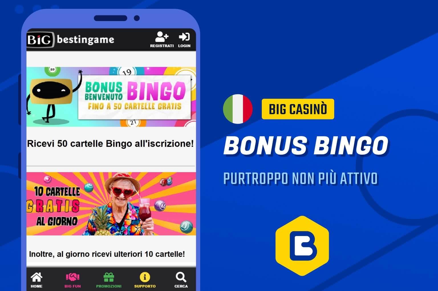 BIG casinò bingo