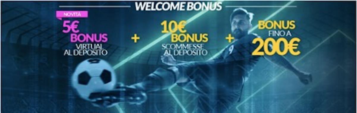Welcome Bonus Scommesse