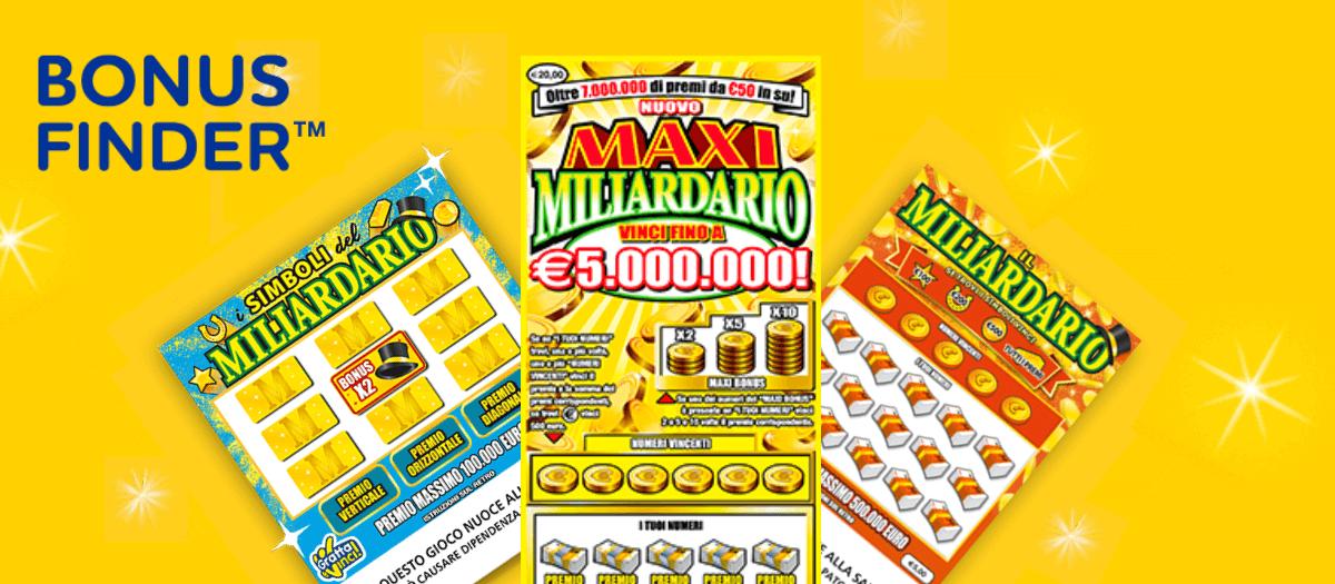 Gratta e vinci miliardario