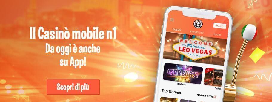 leovegas casino mobile