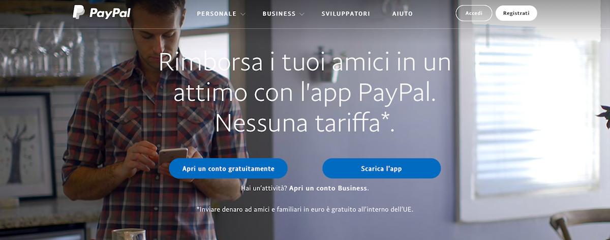 Metodo PayPal