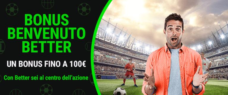 Bonus scommesse Lottomatica