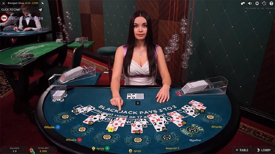 blackjack live casino bonus