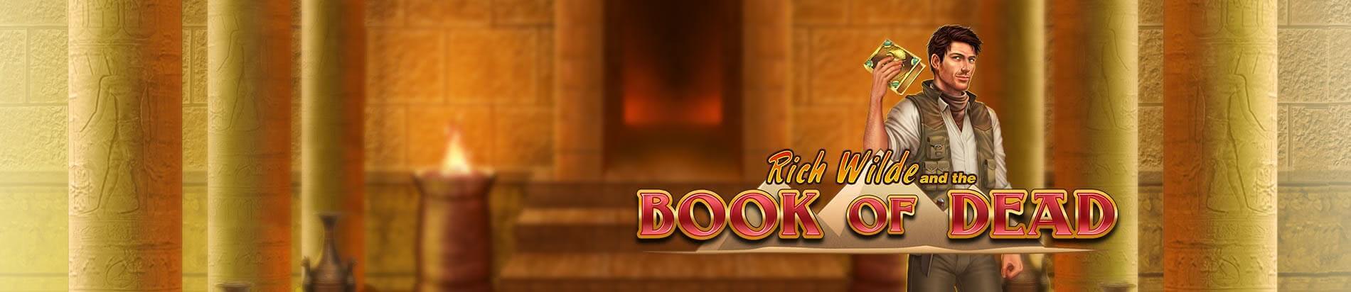 book of dead logo long