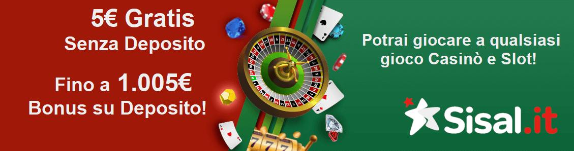 bonus casino sisal
