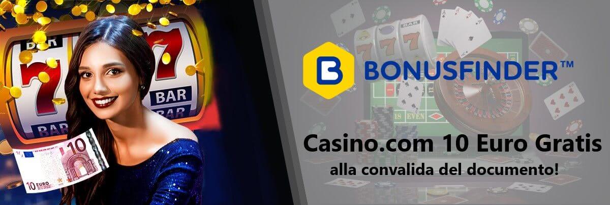 casino.com 10 euro gratis