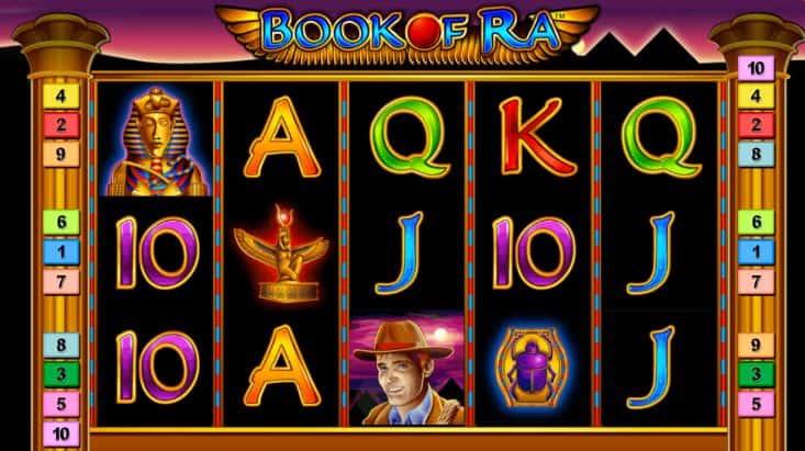 Simboli Book of Ra