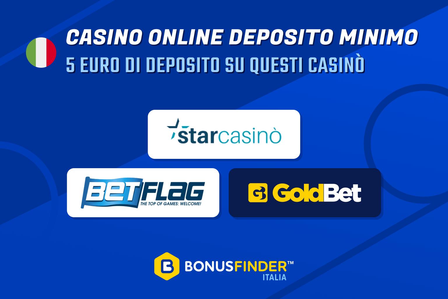 casino online deposito minimo