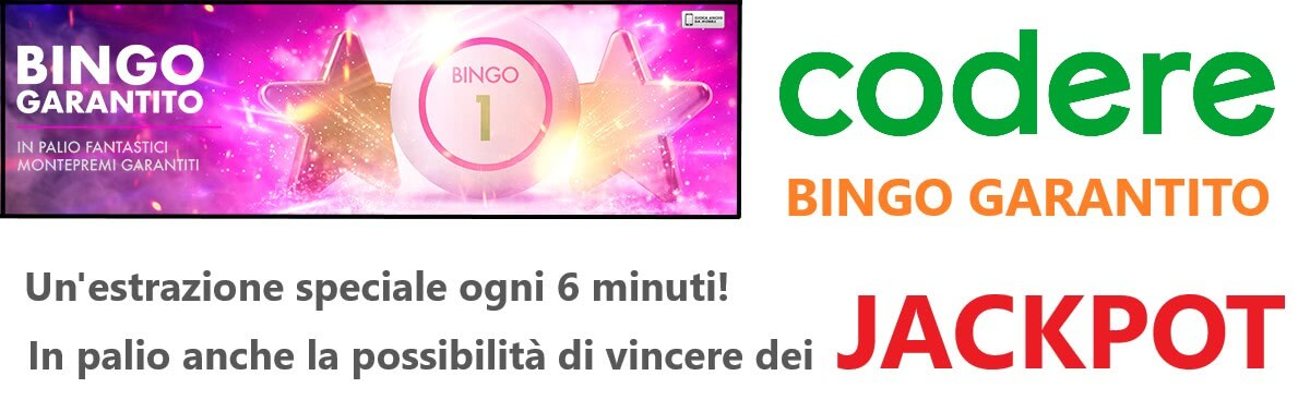 codere bingo