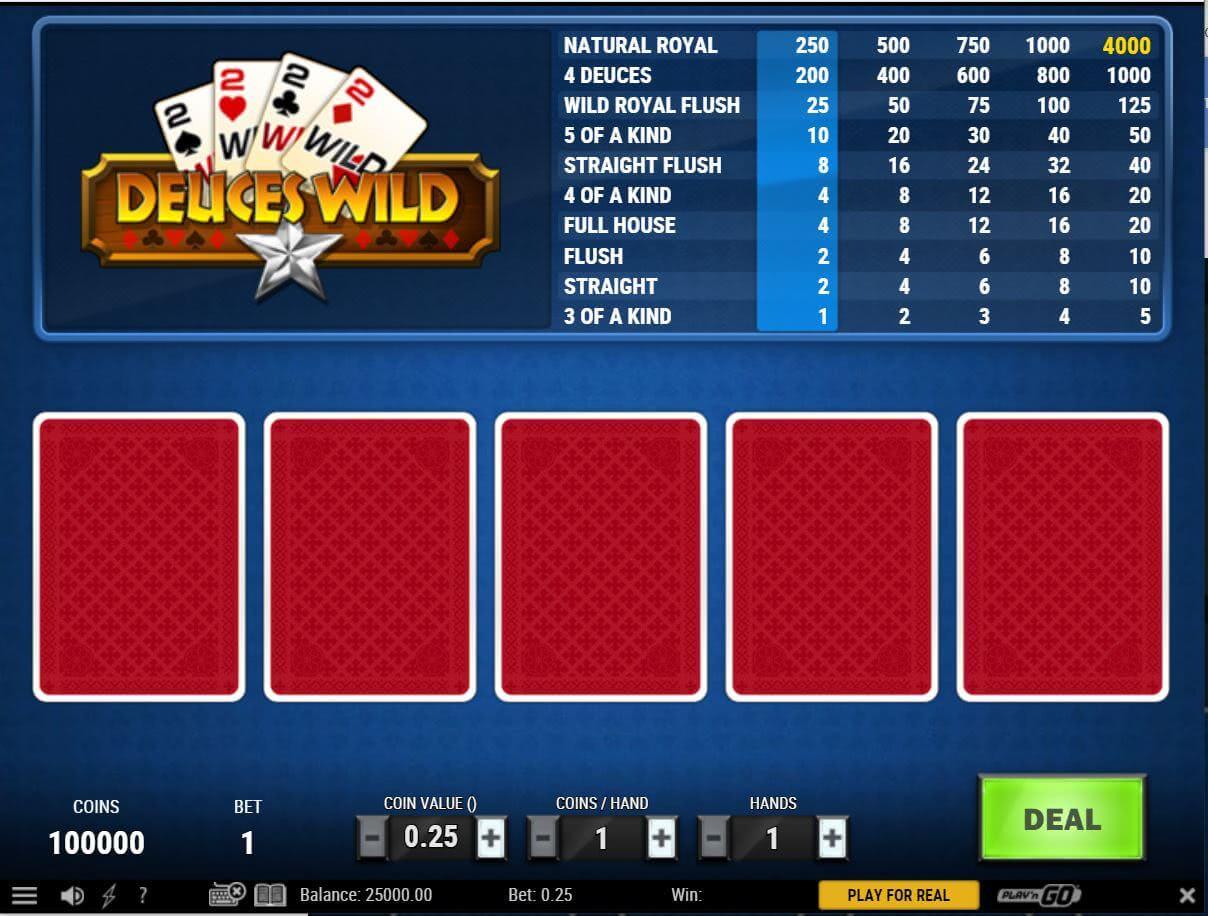 play'n go video poker