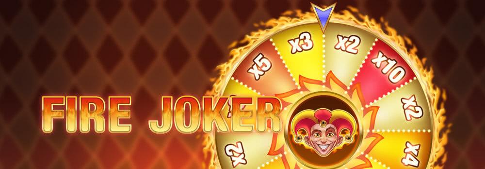 fire joker play'n go