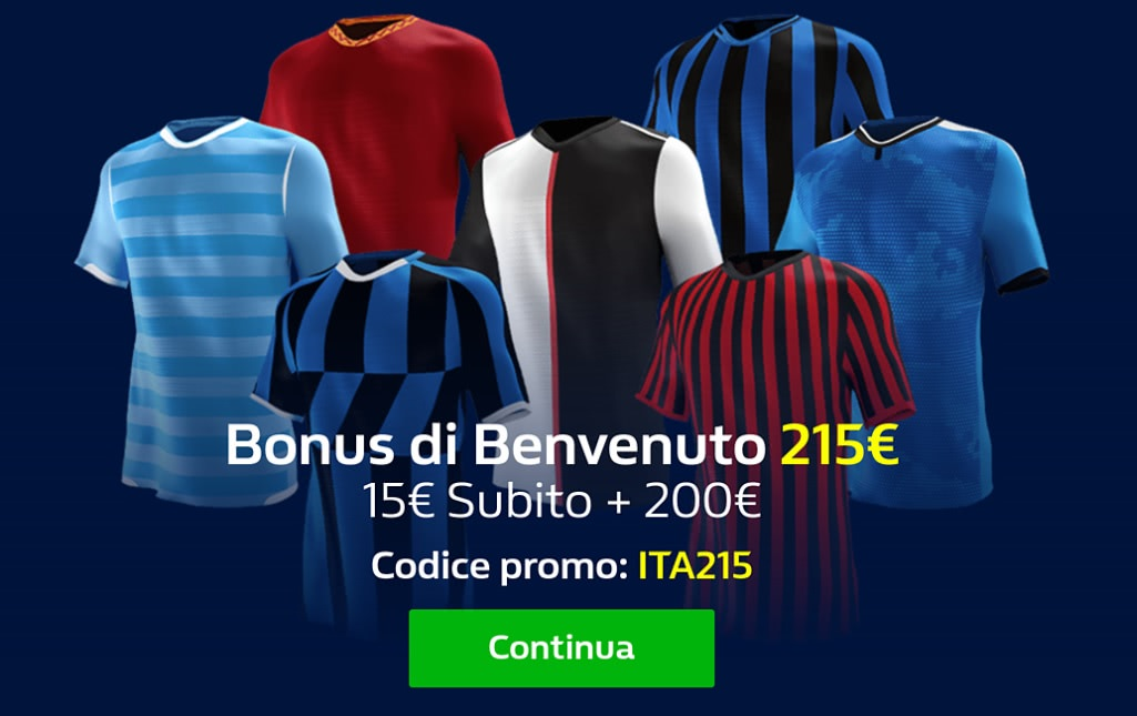 scommese sportive bonus italia