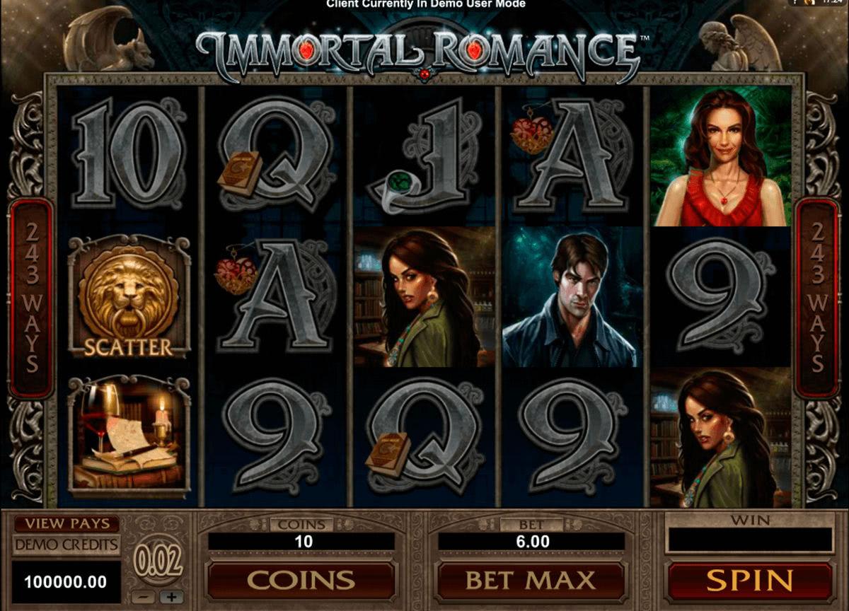 immortal romance bonus italia