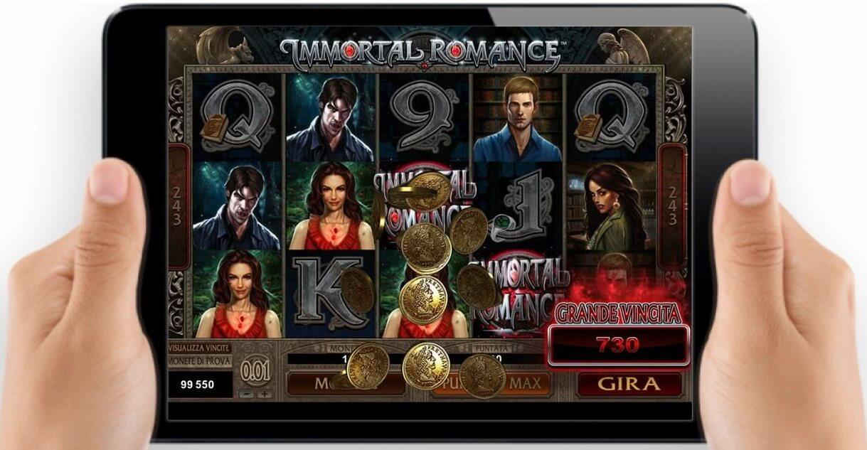 immortal romance mobile tablet