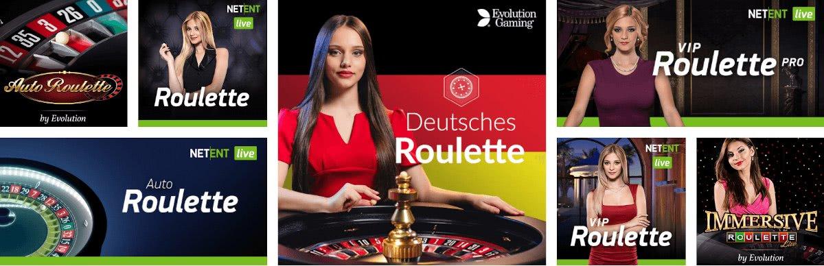 varianti di live roulette