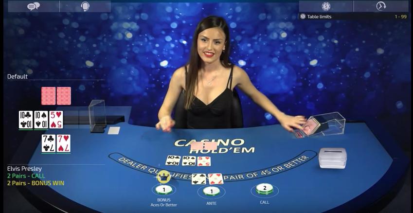 bonus casino online live