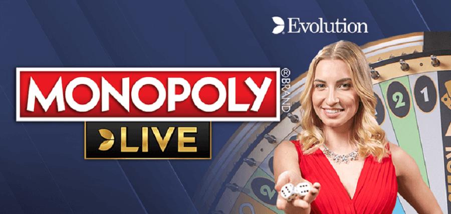 monopoly live di evolution gaming