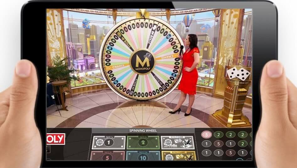 monopoly live mobile