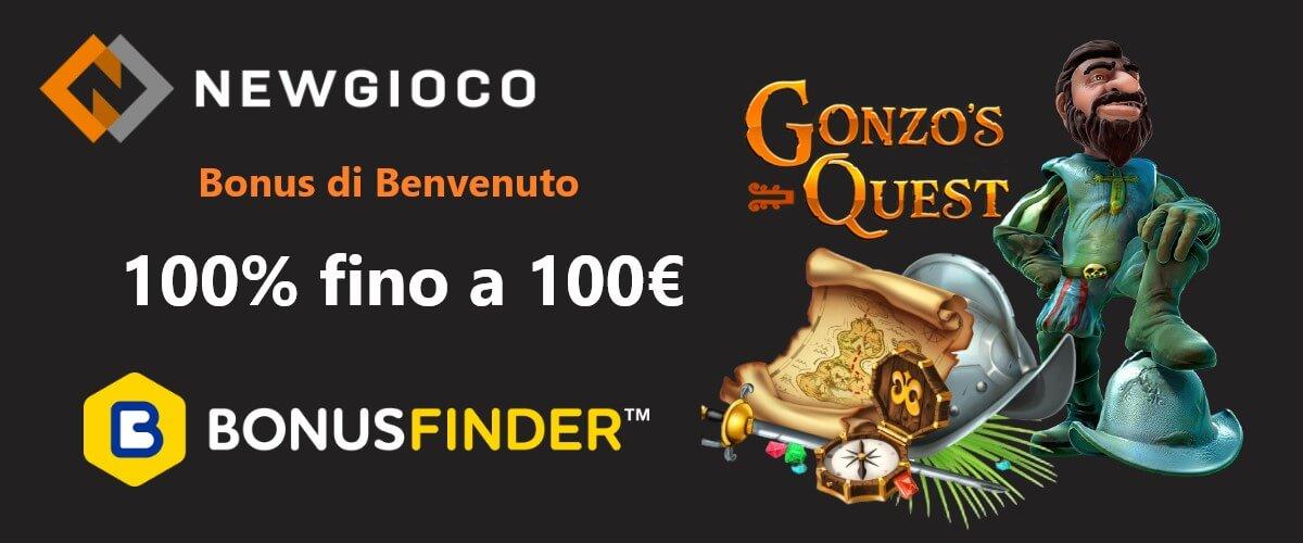 newgioco bonus benvenuto