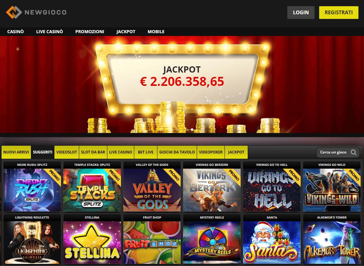 newgioco casino online