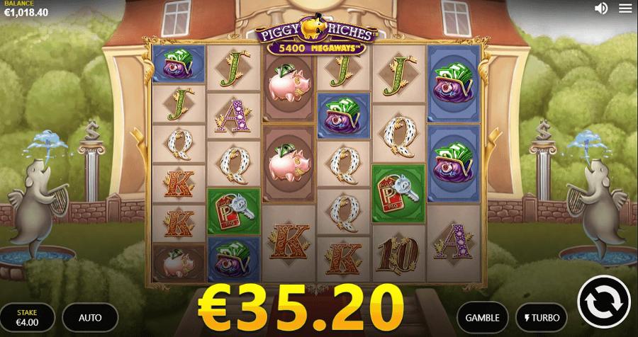 Piggy Riches Win