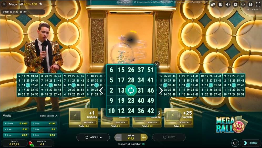 planetwin365 bingo live mega ball