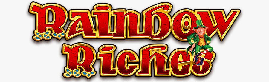 rainbow riches free spins slot logo