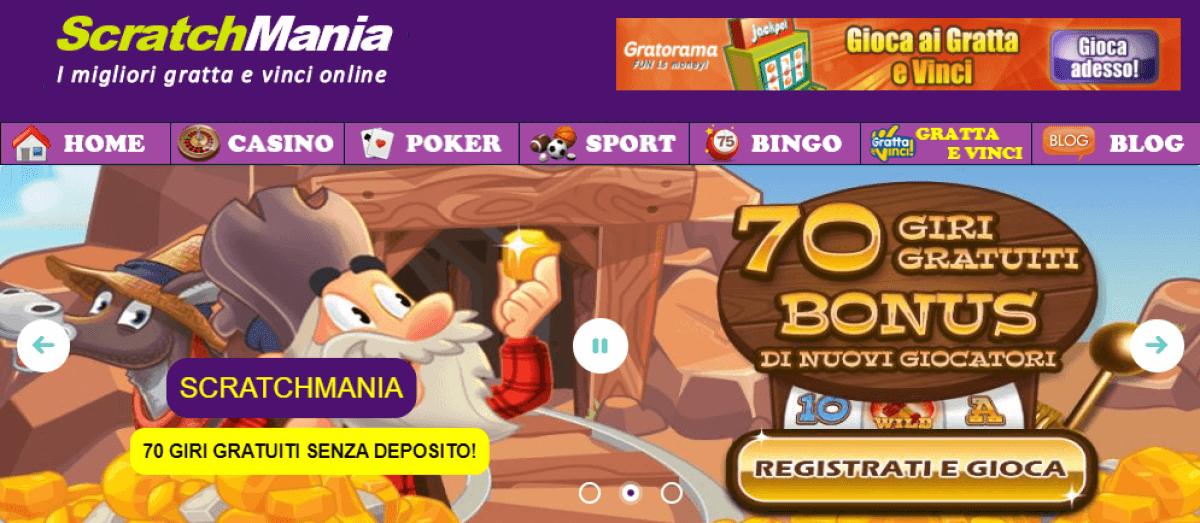 scratchmania 7 euro gratis
