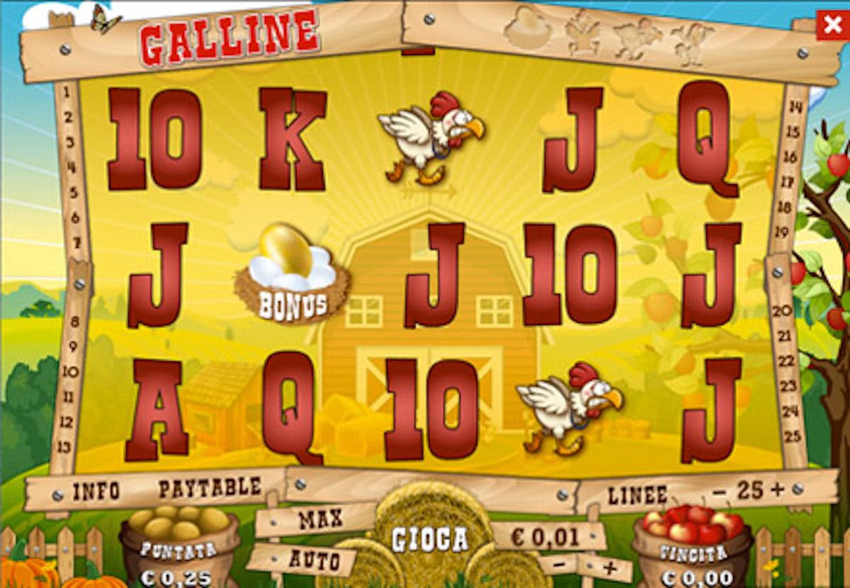 Slot Galline Bonus