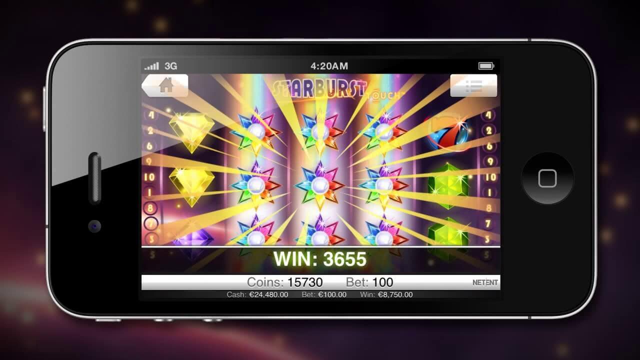 Starburst mobile free spin gratis
